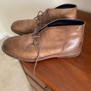 Men's Cole Haan brown leather chukka boots